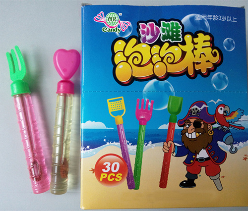 Colour Gourd Shape Bubble Water Toys
