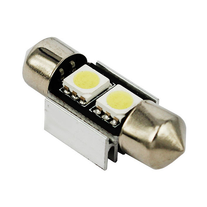 LED Car Light White 31mm 2SMD 5050 Festoon LED Auto Light for Car Interior Light