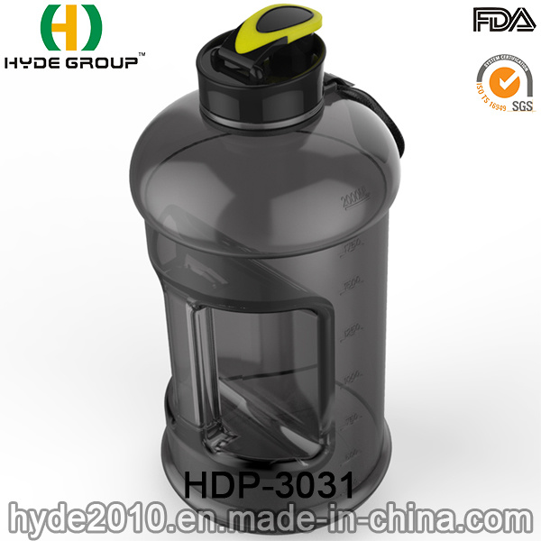Portable Christmas BPA Free 2.2L Plastic Water Bottle, Customized Big Size PETG 2.2L Water Bottle (HDP-3031)