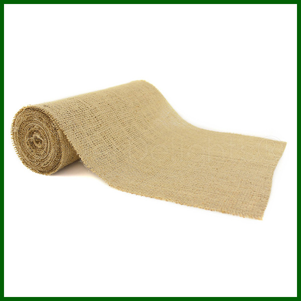 Natural Woven Jute Burlap Fabric Cloth Roll