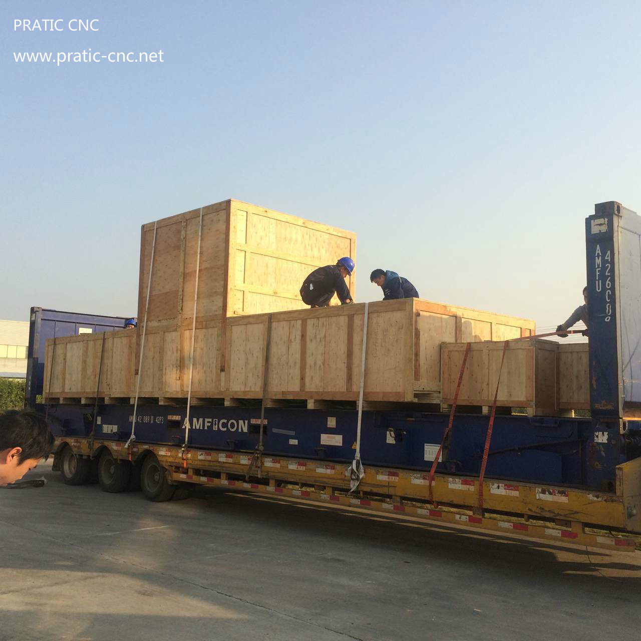 CNC Moving Beam Machining Center (PHC)
