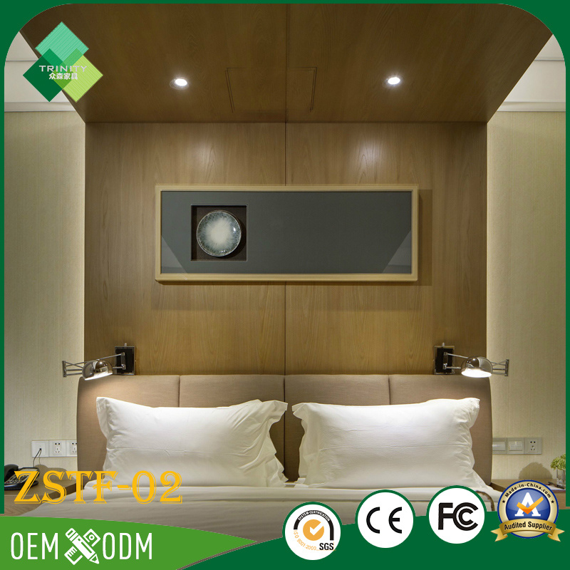 Morden Simple Style Bedroom Set of Hotel Furniture (ZSTF-02)