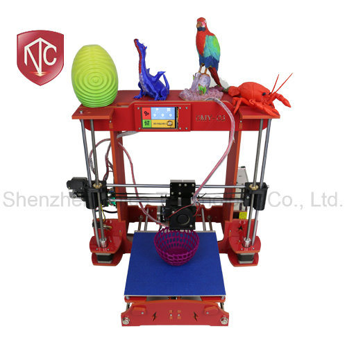 2017 Acrylic Desktop DIY Fdm 3D Printer Machine From Factory