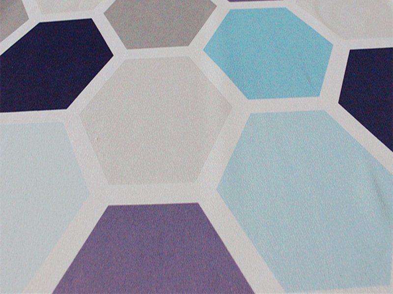 Woven Plain Printed Curtain Decorative Fabric