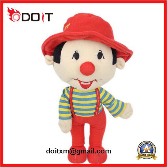Custom Mascot Soft Kids Rag Baby Stuffed Plush Doll Toy