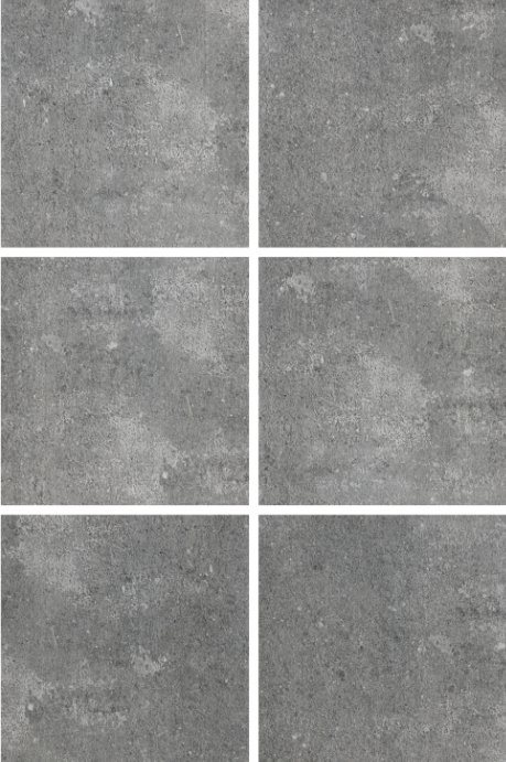 Cement Design Rustic Porcelain Tile for Floor and Wall 600X600mm