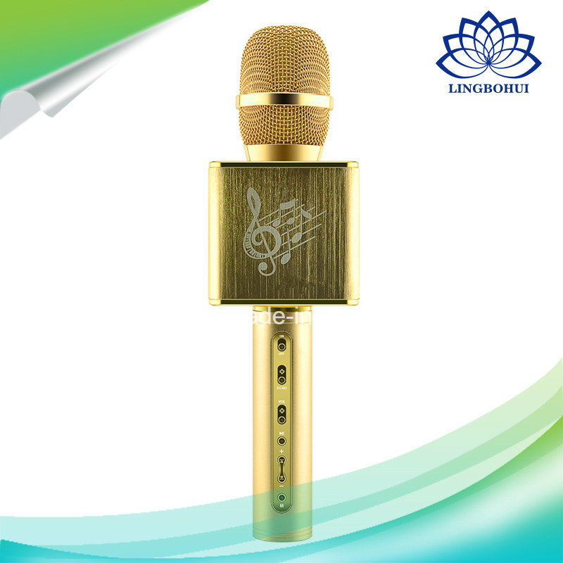 Jy-50 Karaoke Microphone Handheld Computer Mobile Bluetooth Speaker