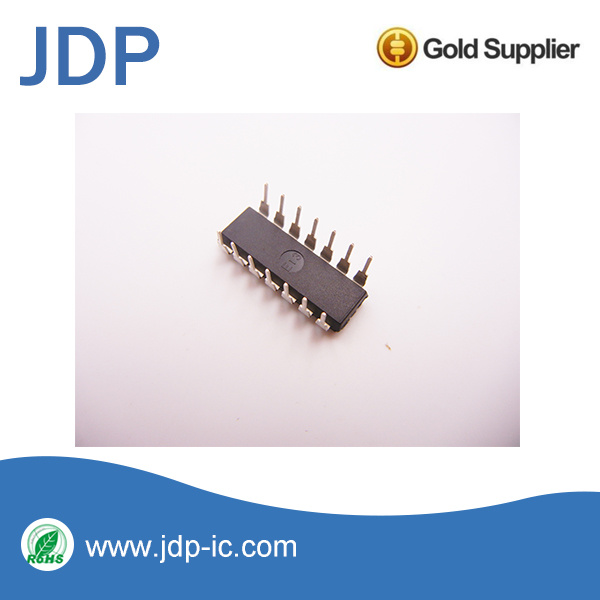 Nand Gate IC 4 Channel 14-Pdip CD4093be