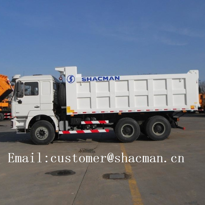 F3000 Shacman 6X4 Dump Truck 345HP Commins Engine