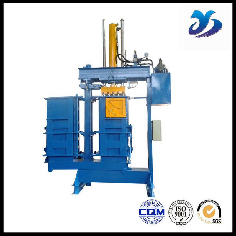 Industrial Use Mini Hydraulic Clothing Baler/Baling Machine for Cardboard