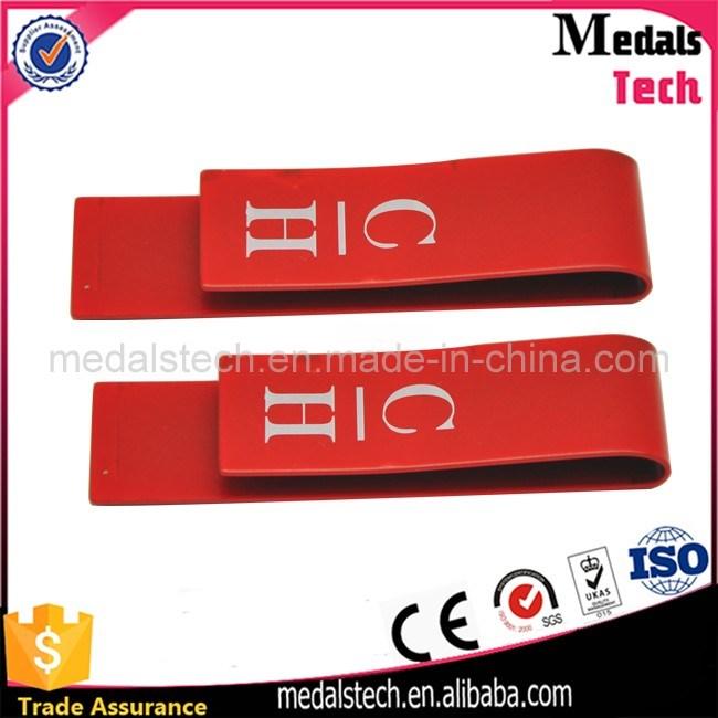 High Quality Stainless Steel Custom Soft Enamel Money Clip