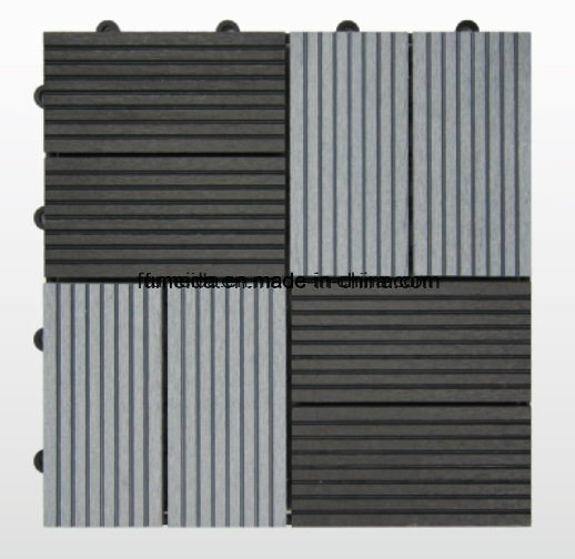 WPC DIY Solid Tile for Outdoor Use with Cedt 004