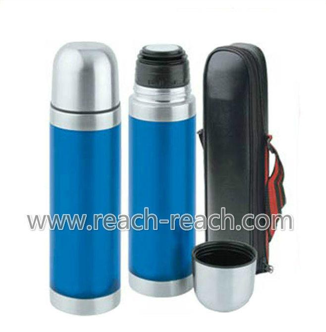Water Bottle, Thermos, Coffee Mug, Stainless Steel Vacuum Flask (R-8017)