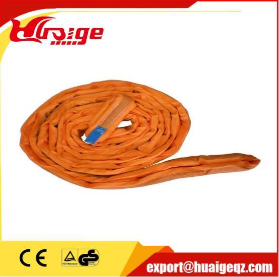 Polyester Material Woven Flat Lifting Webbing Sling with Standard Color Code