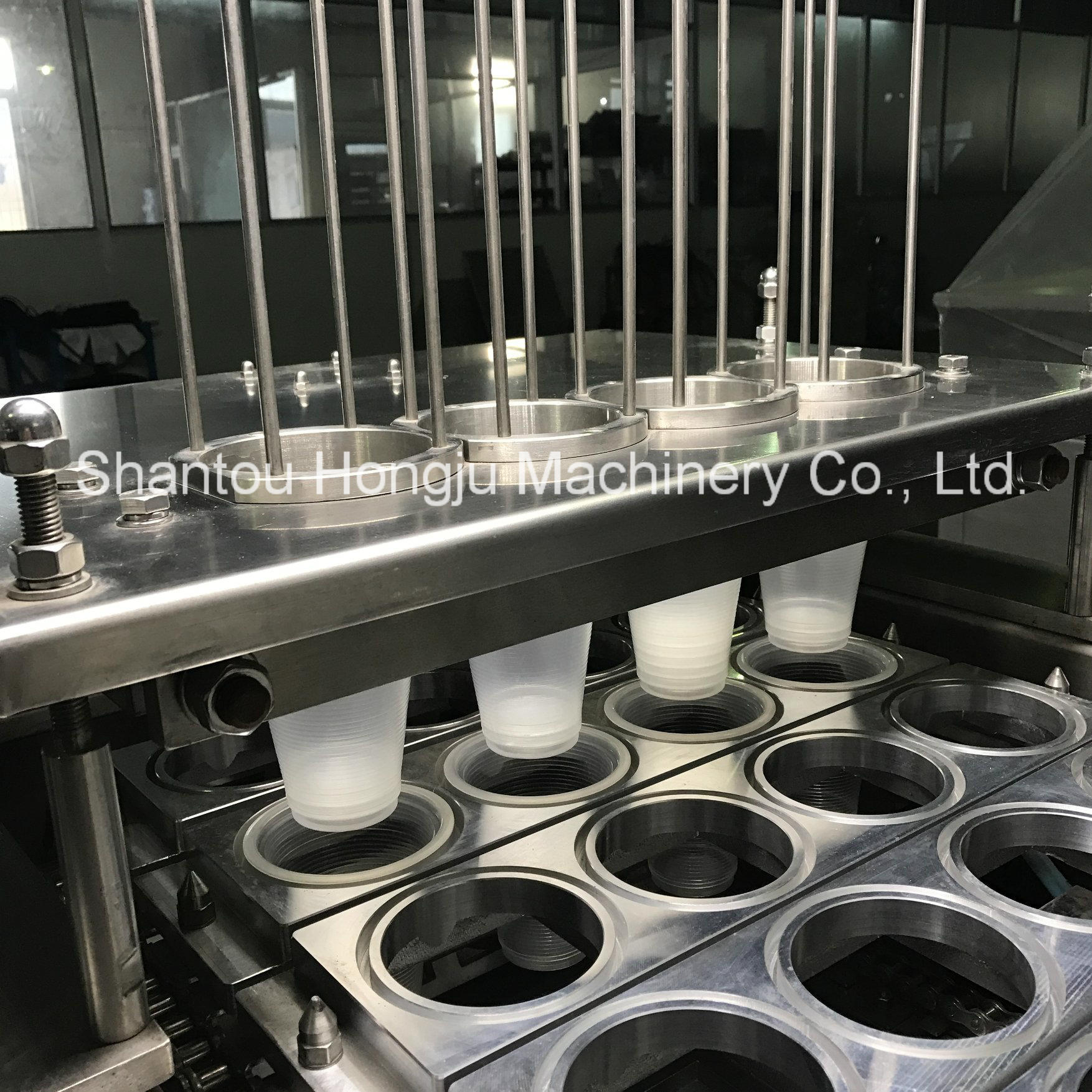 Jelly Cup Filling and Sealing Machine