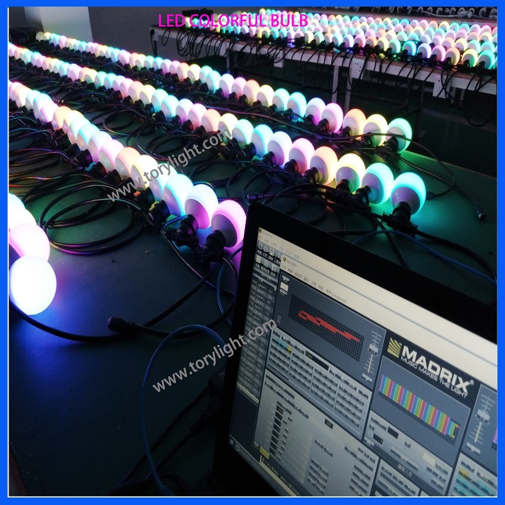 Club Equipment LED Tri Color Pixel Party Lighting Ball