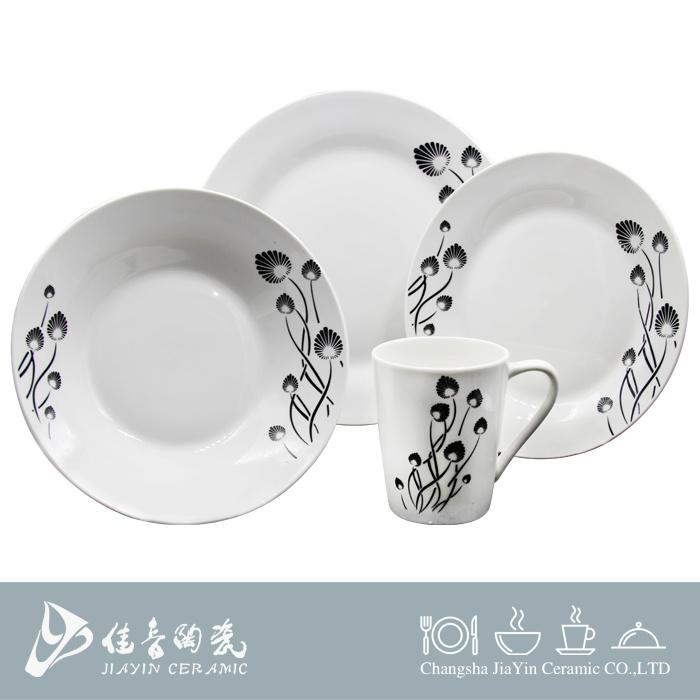 16PCS Ceramic Tableware