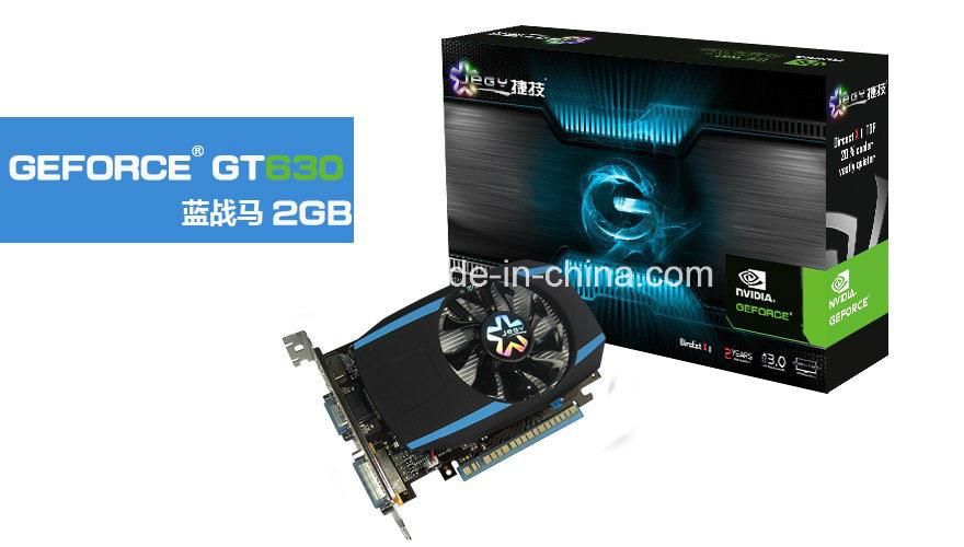 2017 Sales Champion Nvidia Geforce Drr3 Gt630 2GB 128bit Chipset Graphics Card VGA Card