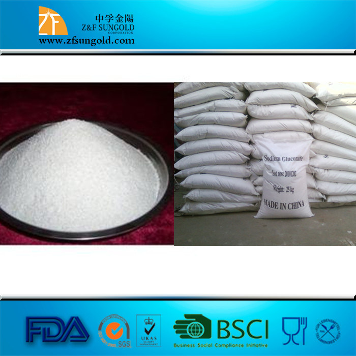 Sodium Gluconate 98% Food Additive Sodium Gluconate