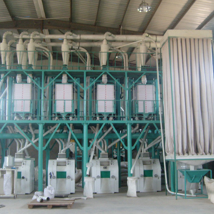 50ton Per Day Wheat Flour Mill Machine