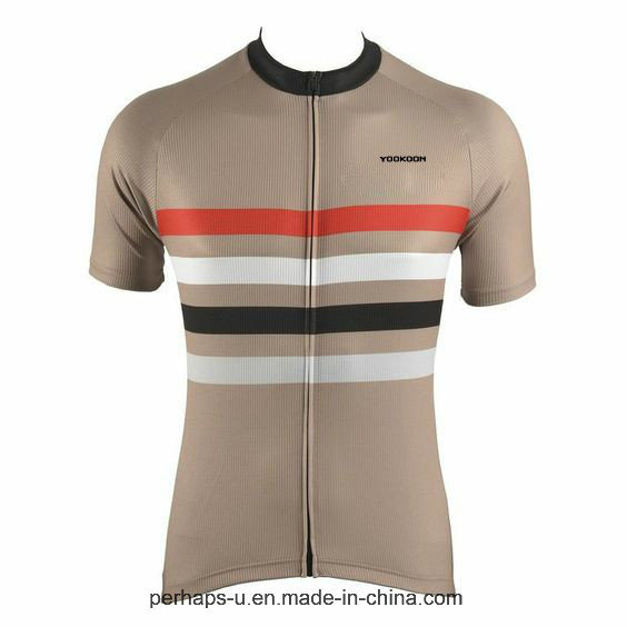 Fashion High Quality Men Stripe Cycling Clothes Fitness Wear