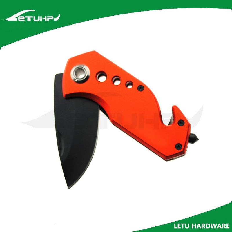Promotion Black Finish Multi Purpose Pocket Knife