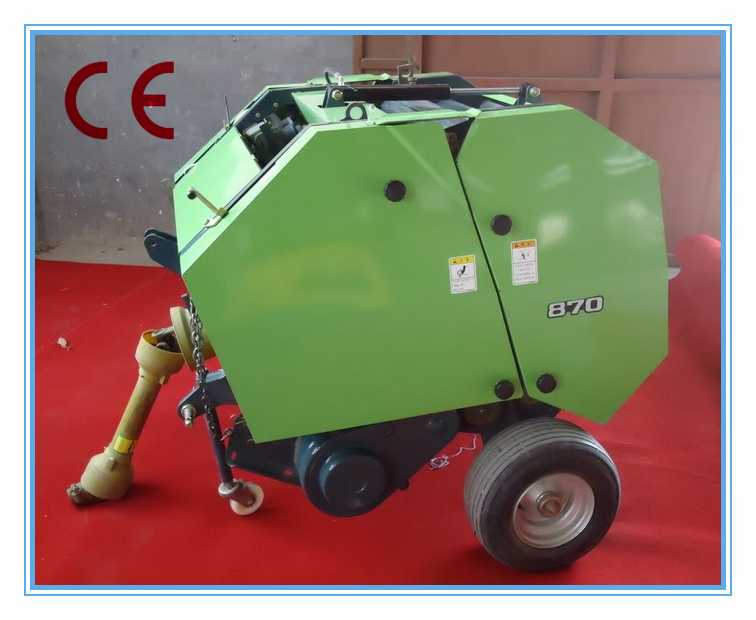 Small Round Hay Baler, Tractor Pto Driven, CE Approval 0910