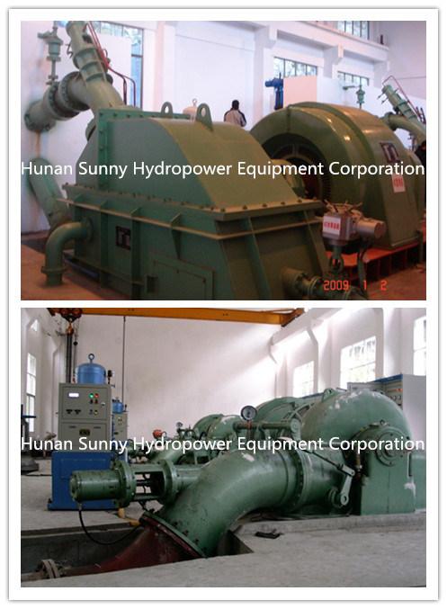 Pelton Hydro (Water) Turbine-Generator Hydropower Station in Georgia / Hydroturbine