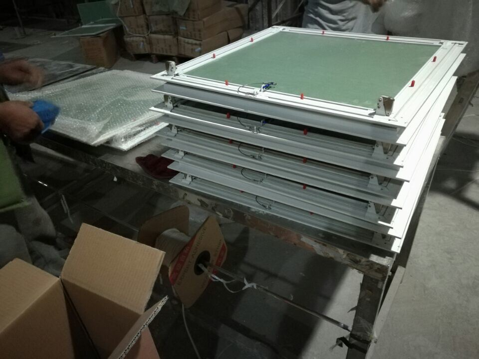 Gypsum Ceiling Aluminum Access Panel/Gypsum Flanged Access Panel for Ceiling 600*600mm
