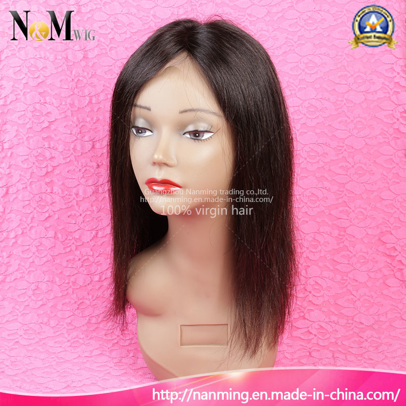 Fashion Indian Hair Lace Front Wig/Full Lace Wig 100% Human Hair Wigs