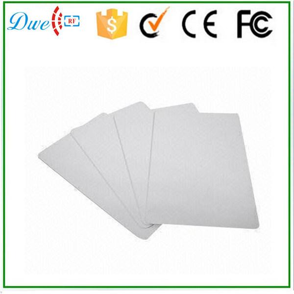 ISO18000-6c 860MHz to 960MHz UHF PVC Passive RFID Card