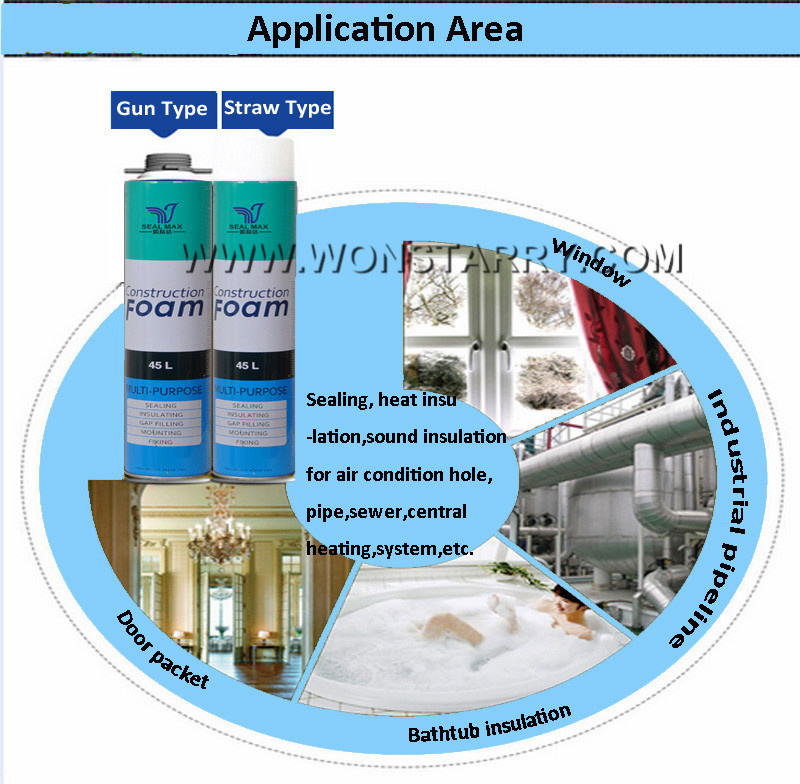 Hot Sale Construction Polyurethane Foam with Good Quality