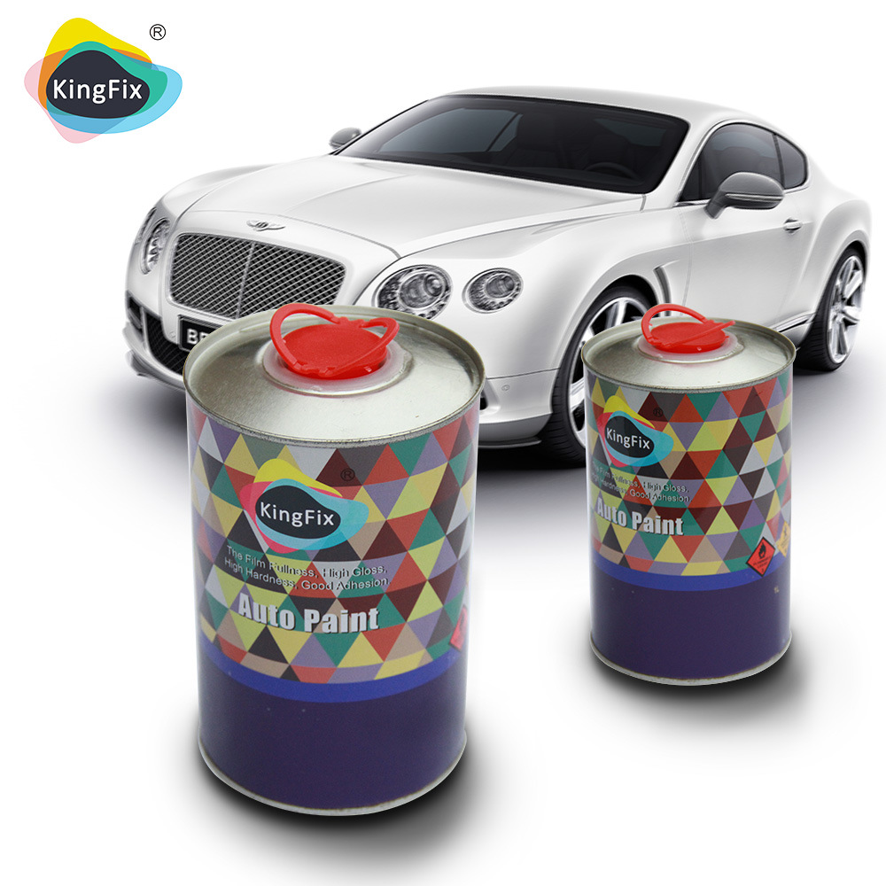 High Quality Excellent Metallic Effect Color Paint for Car Refinishing