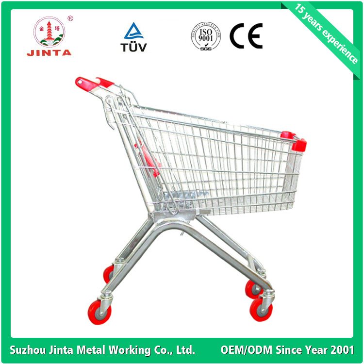 Top Quality Supermarket Use Hand Shopping Cart (JT-E12)