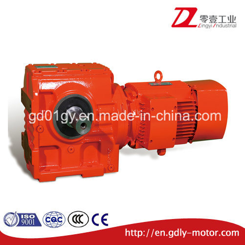 S Helical-Worm Gear Reducer