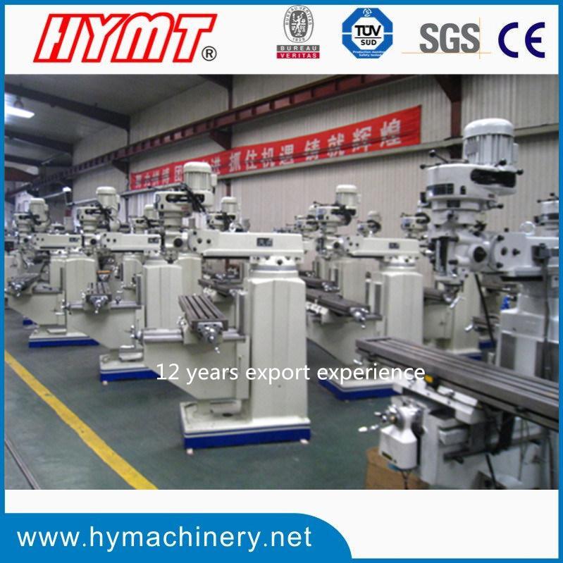 China Manufacturer of Taiwan Head Vertical Turret Milling Machine (X6325B)