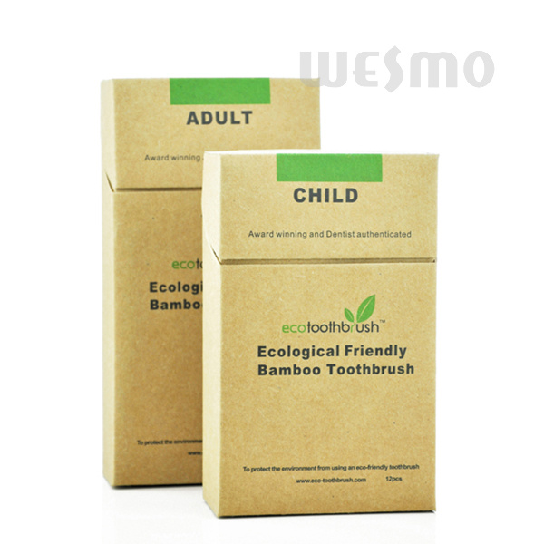 Eco-Friendly Bamboo Toothbrush (WBB0803-C)
