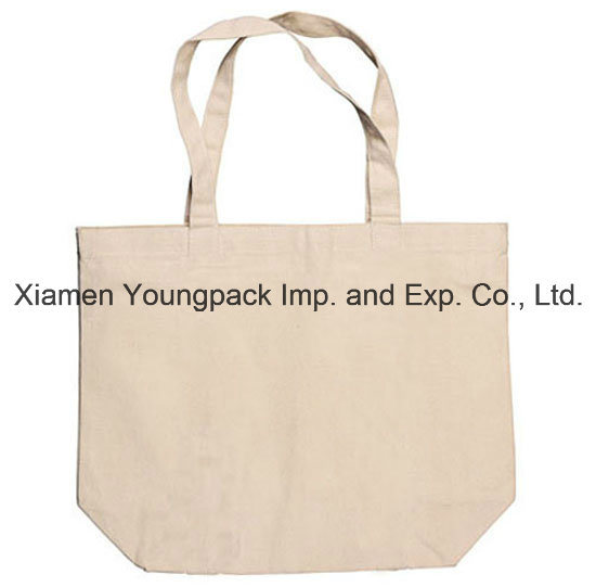 Advertising Promotional Eco Friendly Reusable 100% Natural Cotton Calico Bag