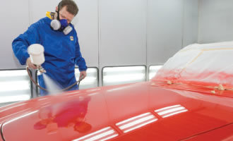 Fast Drying Two Component Fast Clearcoat for 1k Basecoat