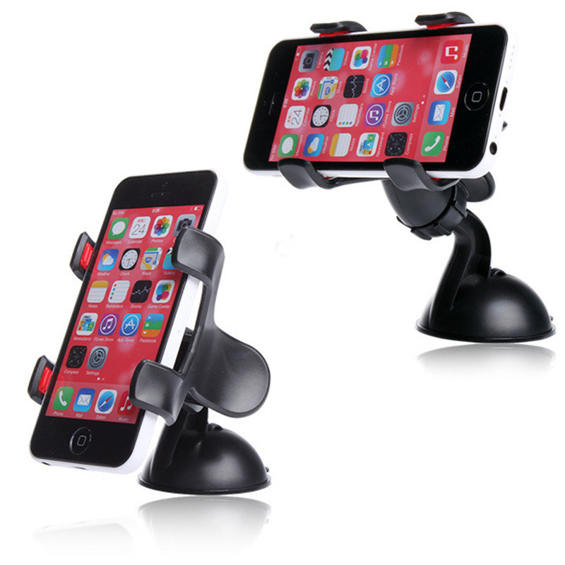 360 Degree Rotation Mobile Phone Holder Universal Car Mount Holder