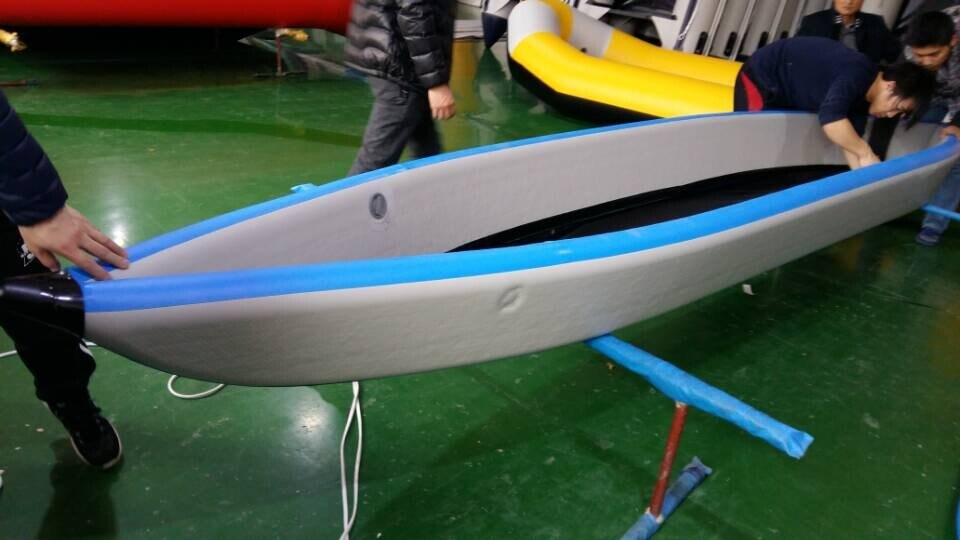 China sea eagle 2 persons drop stitch inflatable kayak photos