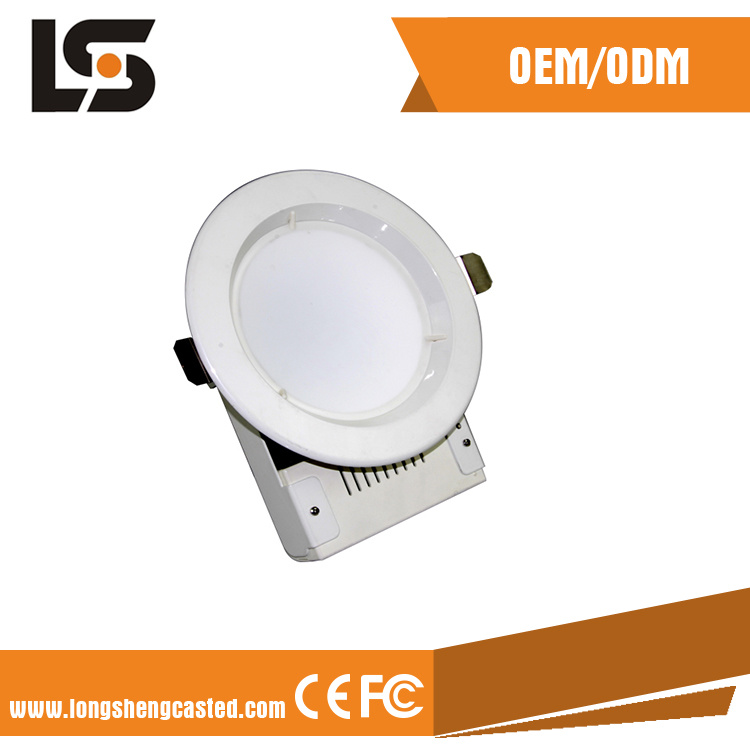 ADC12 Aluminum Waterproof LED Street Light Die Cast Cover Production