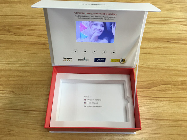 "2.4′′/2.8′′/4.3′/5""/7′/10′′ TFT LCD Video Card/LCD Video Booklet Box/Video Brochure for Advertising"