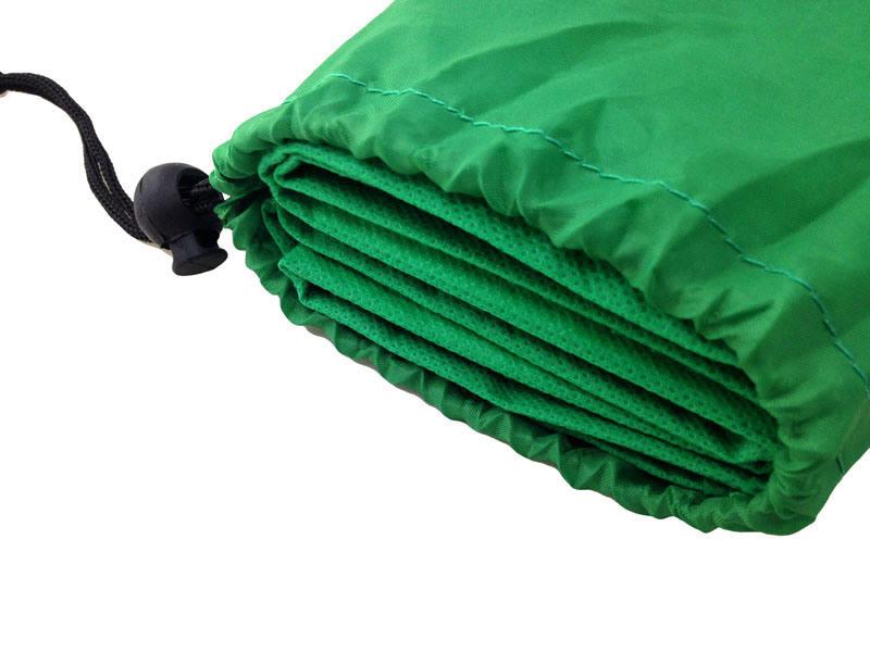 8 Panel Foldable Seat Cushion Green