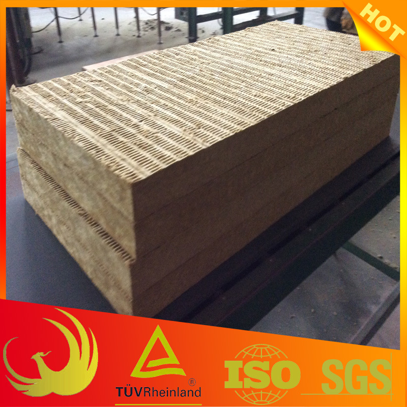 Thermal Insulation Fireproof Rock Wool Board