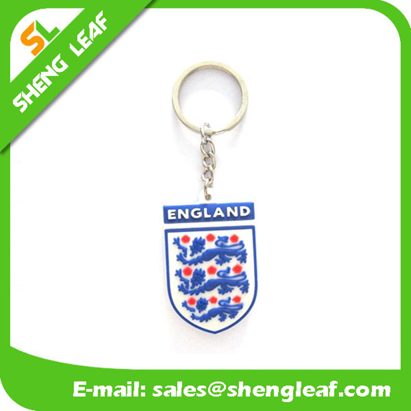 Eco-Friendly Rubber Key Chain for Promotional Gifts (SLF-KC066)