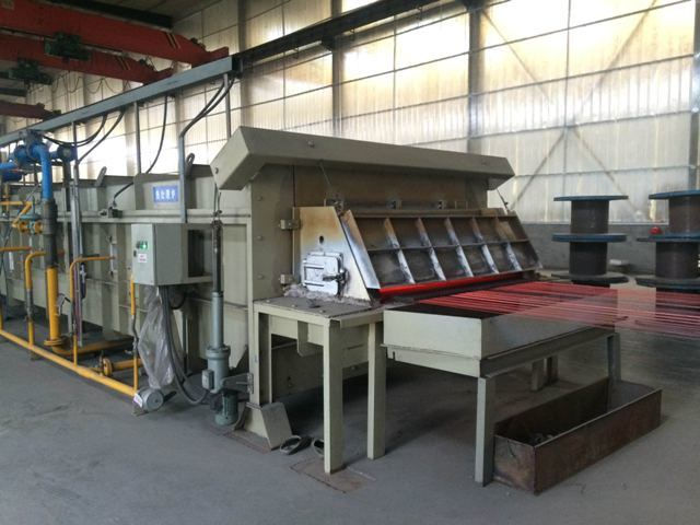 Steel Wire on Line Annealing Furnace Type a