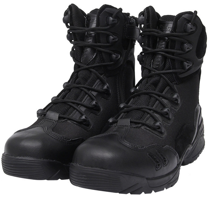 2-Colors High Ranger Desert Combat Shoes Military Army Tactical Boots