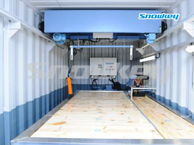 Containerized Block Ice Machine