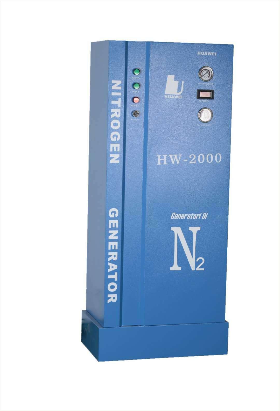 High Purity N2 Nitrogen Inflator for Hw-2000